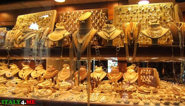 золото мост Флоренция магазин