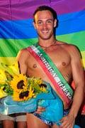 самый красивый гей Италии Алессио Кувелло