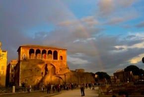 Радуга в Риме
