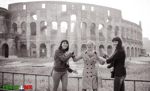 Экскурсия в Риме Колизей