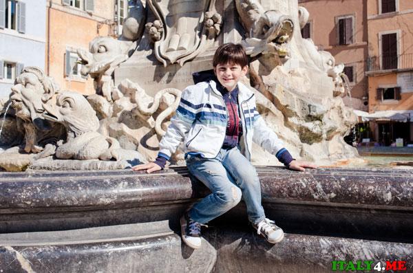 фонтан в Риме штраф