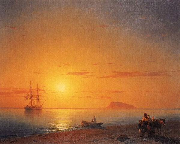 Иван Айвазовский русский художник в Италии