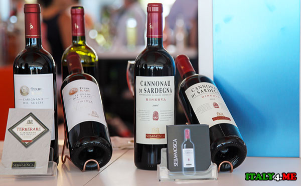 Сардиния красное вино
