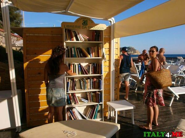 пляж библиотека Италия