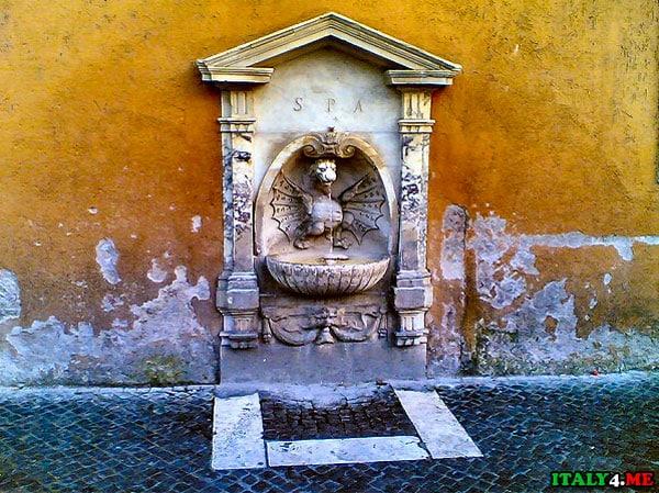 фонтачик с питьевой водой