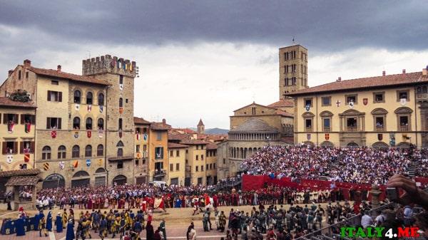 Ареццо-Тоскана-