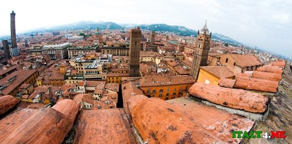 Болонья-вид-на-панораму-города