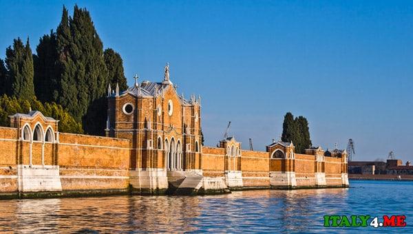 Кладбище-Сан-Микеле-Венеция-2