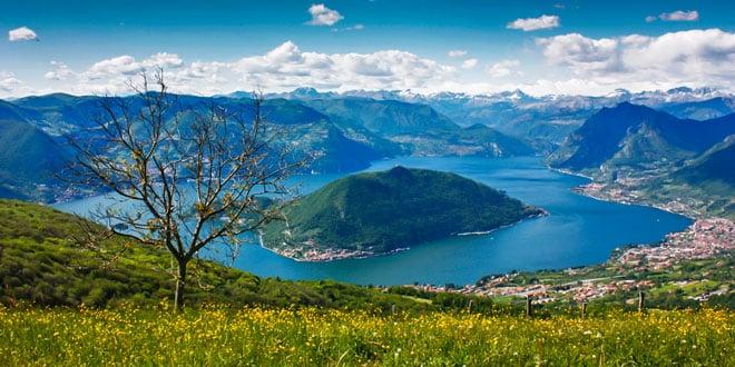 Озеро Изео Италия