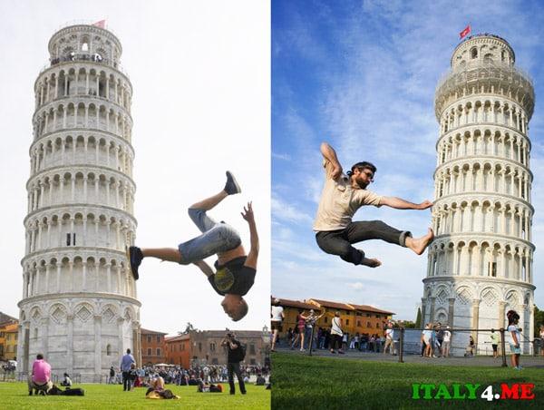 фото пизанская башня италия