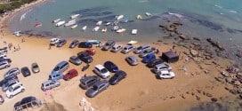 парковка-пляж-Сицилия