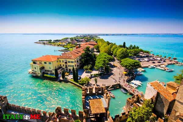 Сирмионе-озеро-Гарда-Италия