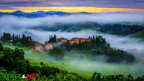 Тоскана-география-Италии