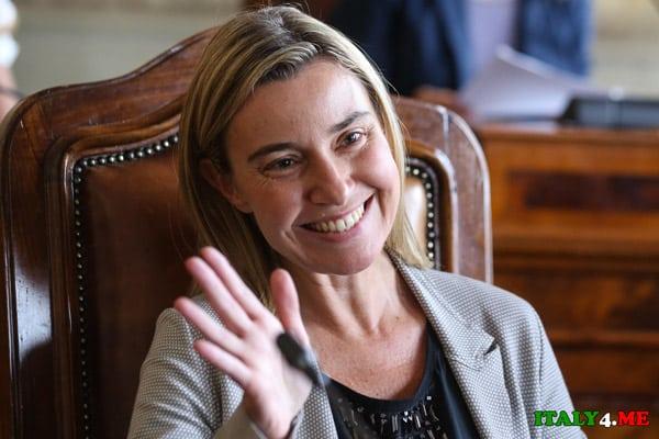 министр-иностранных-дел-Италии-Федерика-Мгерини