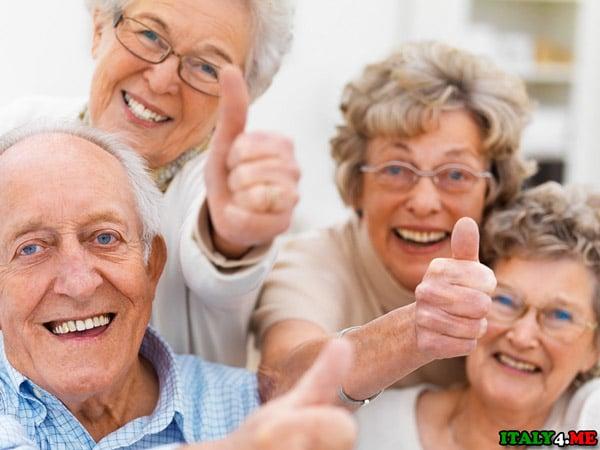 пожилые итальянцы