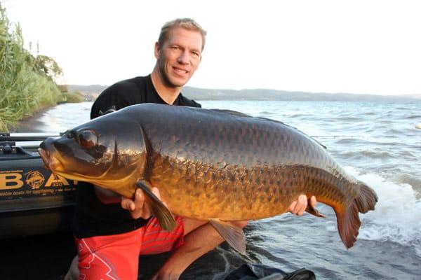 рыбалка озеро Больсена