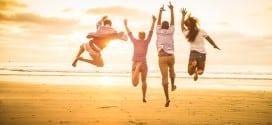 счастливые иммигранты в Италии