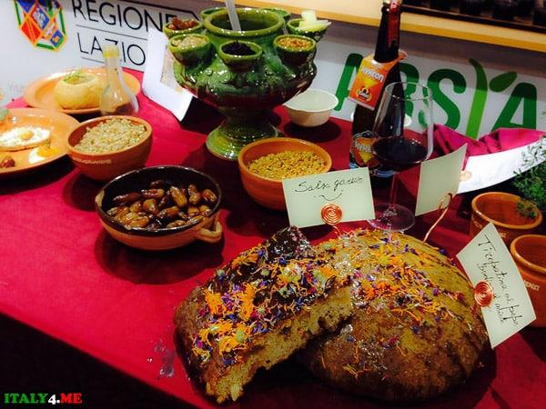 Кухня региона Лацио