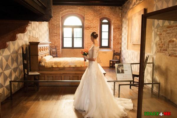спальня  музей Джульетты