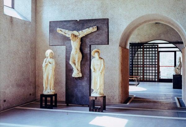 исторический музей в замке Кастельвеккио скульптуры