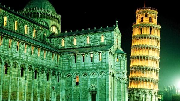 Duomo di Pisa Пизанский собор и падающая башня