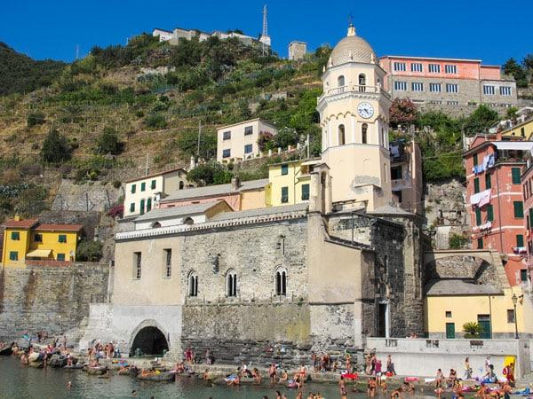 церковь святой Маргариты Антиохской Вернацца Италия