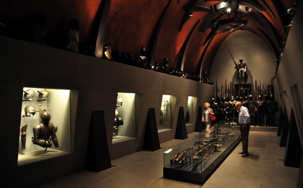 Музей Польди-Пеццоли доспехи