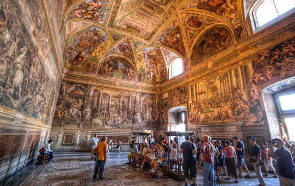Станцы Рафаэля Апостольский дворец в Ватикане