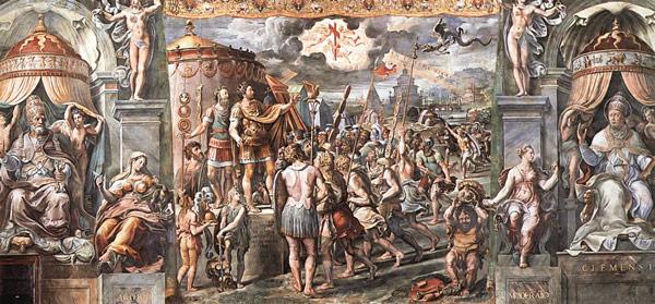 фреска Рафаэля «Видение Креста»