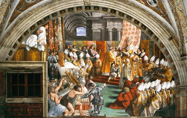 фреска Рафаэля Станца дель Инчендио ди Борго