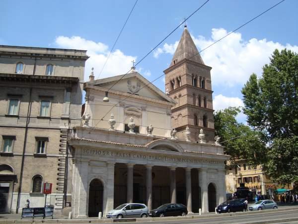 Трастевере - Базилика Сан-Кризогоно