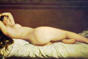 картина в музее Милана
