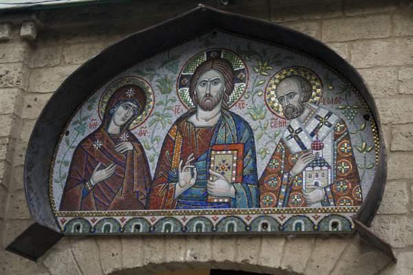 Bari-Basilica-di-San-Nicola-mozaika