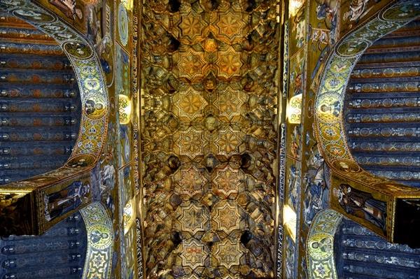 Потолок Палатинской капеллы
