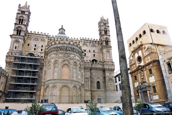 Кафедральный собор Палермо - арабские мотывы