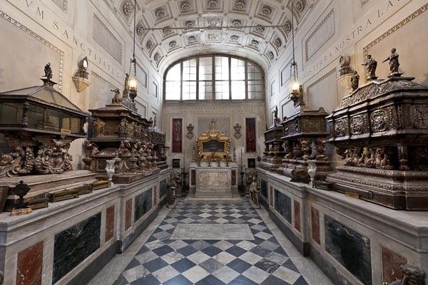 Кафедральный собор Палермо - крипты