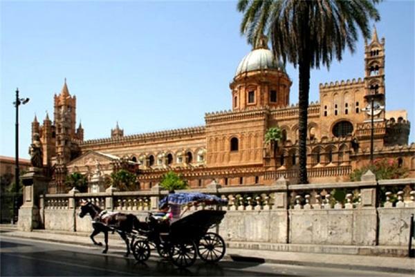 Как добраться до Кафедрального собора Палермо
