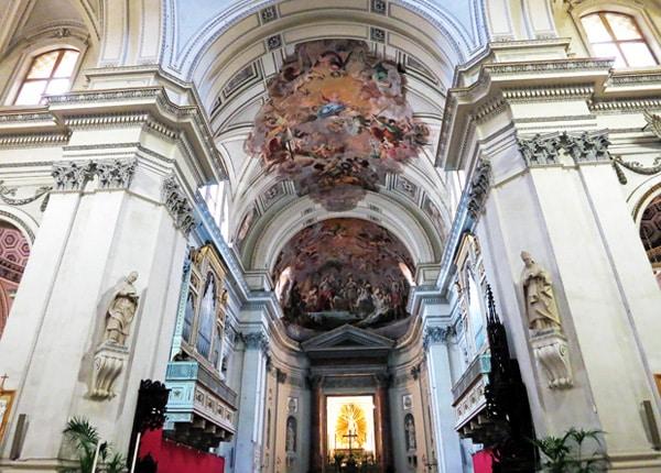 Кафедральный собор Палермо - Купол над алтарем