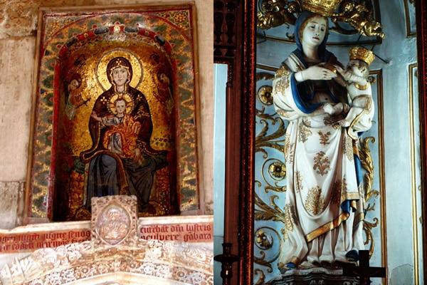 Кафедральный собор Палермо - Скульптура