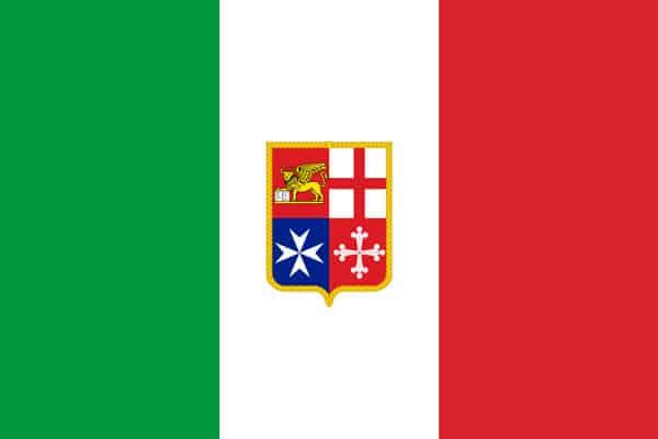 Флаг Италии утвержденный Конституцией 1947 года