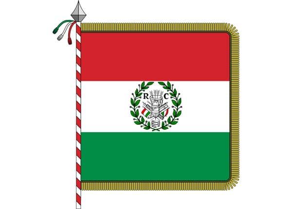 Флаг Цизальпинской республики Repubblica Cispadana