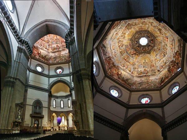 Дуомо Флоренция - внутреннее оформление