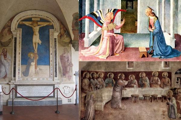 Флоренция - Экспонаты музея Сан-Марко