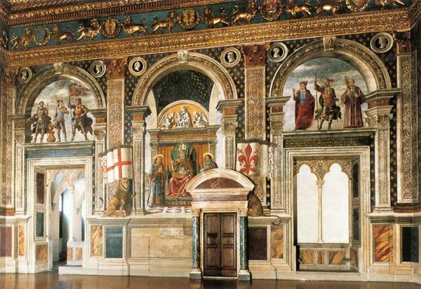 Флоренция - Палаццо Веккьо, зал Лилий
