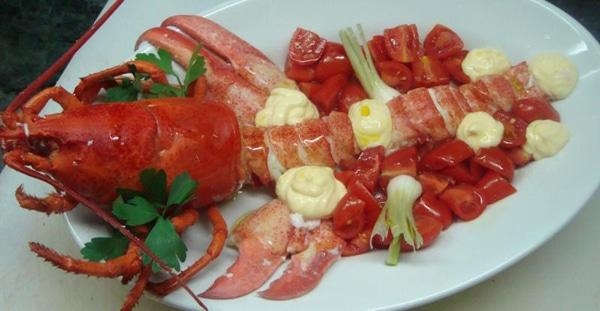 рецепт омара с шафраном