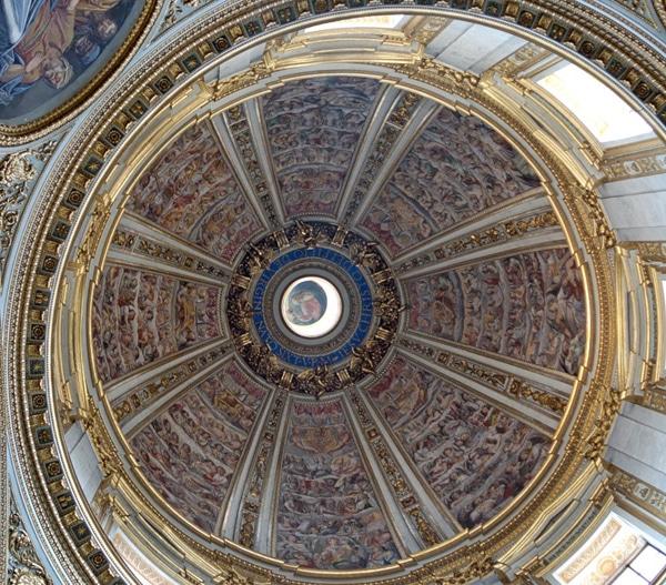 Купол Сикстинской капеллы в Санта-Мария-Маджоре