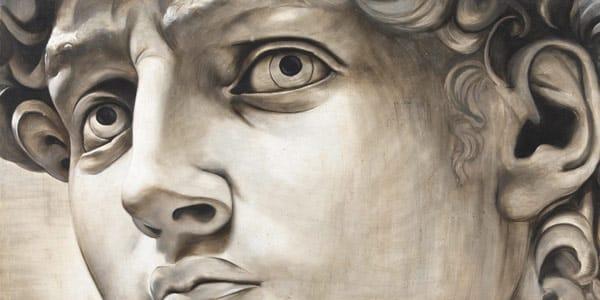 Голова Давида Микеланджело