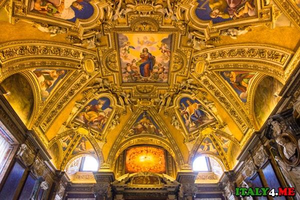 Потолок базилика Санта-Мария-Маджоре