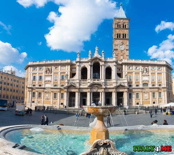 Церковь Санта Мария Маджоре в Риме
