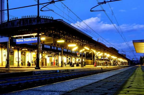 Ж.д.вокзал Roma Trastevere